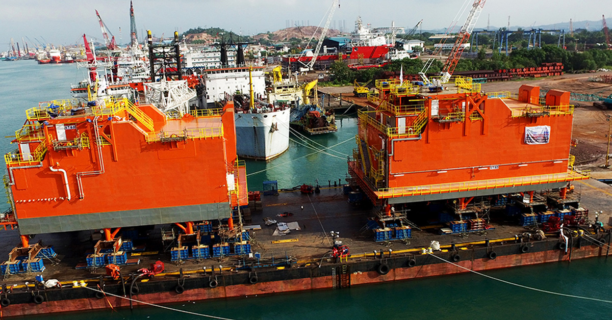 SHIPBUILDING - FPSO TOPSIDE POWER MODULES
